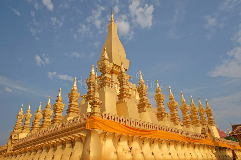 Buddhist monument royalty free stock photo