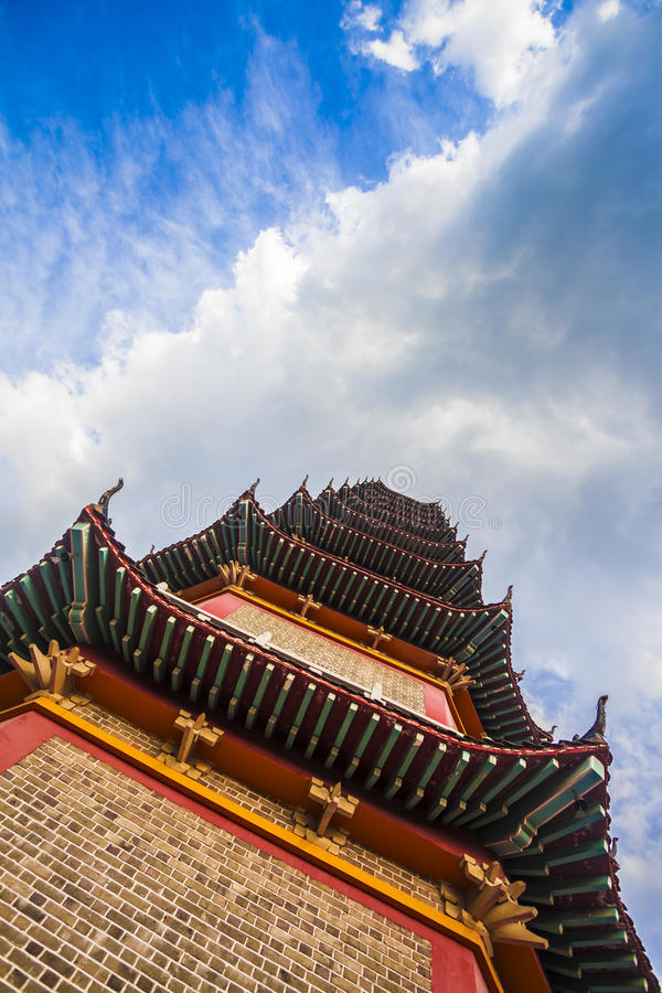 Buddhist pagoda stock photos