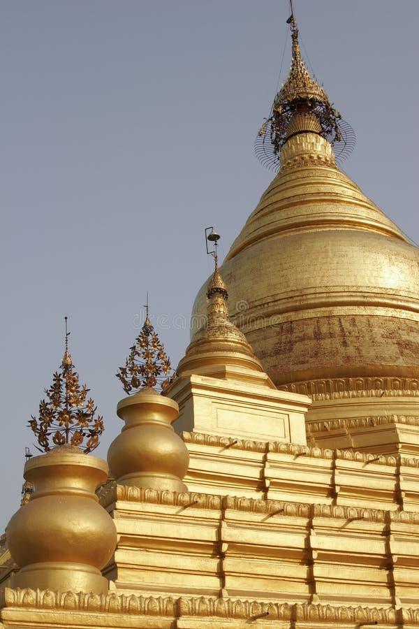 Buddhist pagoda, Myanmar royalty free stock photo