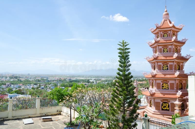Download Buddhist temple in Vietnam stock photo. Image of pagoda - 29863680