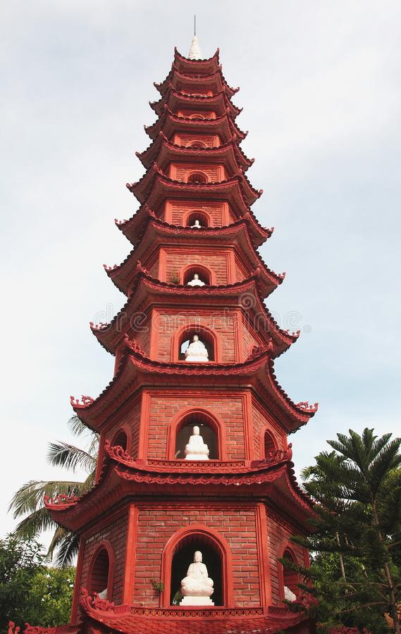 Download Buddhist  Pagoda  Temple Tower Stock Image - Image of religion, church: 16800453