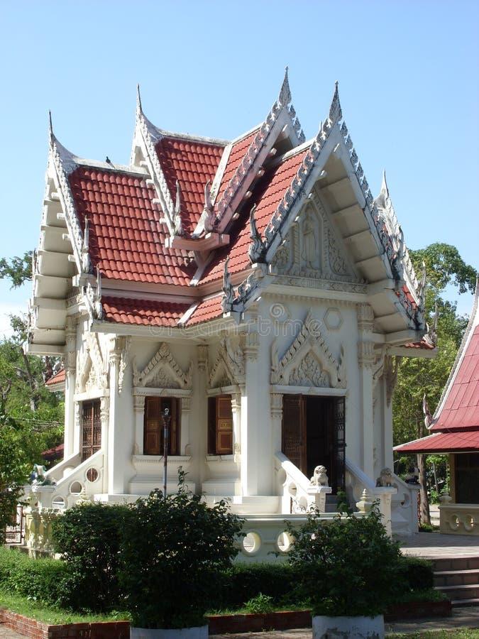 buddhist pavilion temple thai 免版税库存图片