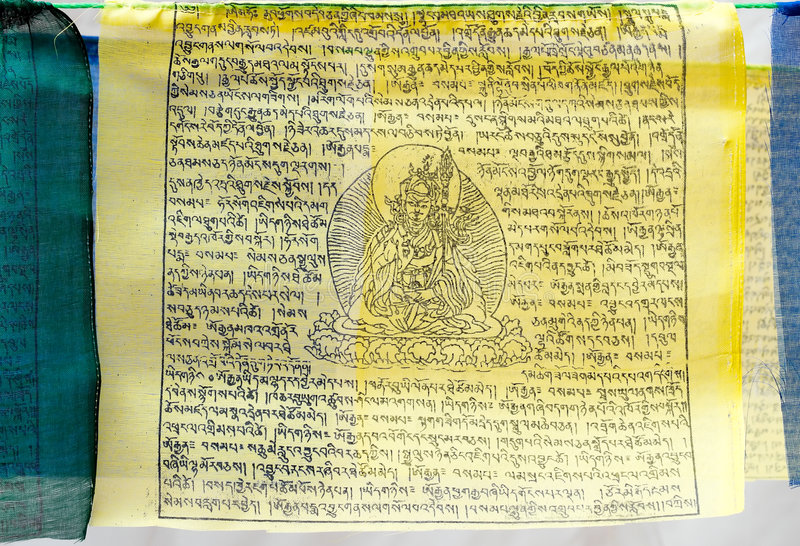 Download Buddhist Prayer Flag stock photo. Image of culture, temple - 3503288
