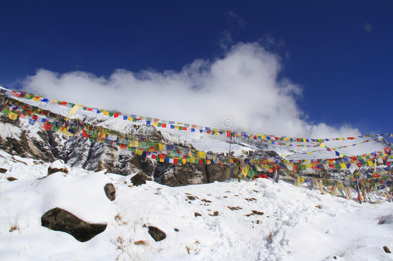 Download Buddhist Prayer Flags In ABC Stock Image - Image: 26575227