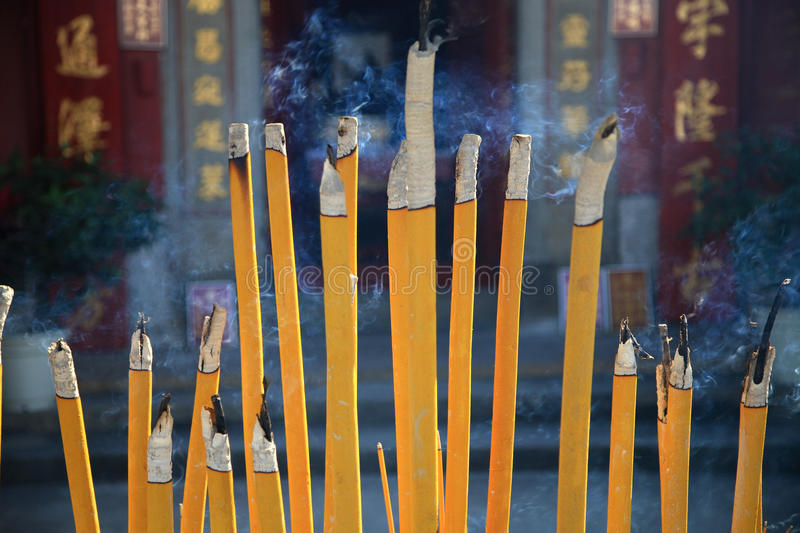 Download Buddhist Prayer Joss Sticks Stock Photo - Image: 30129456