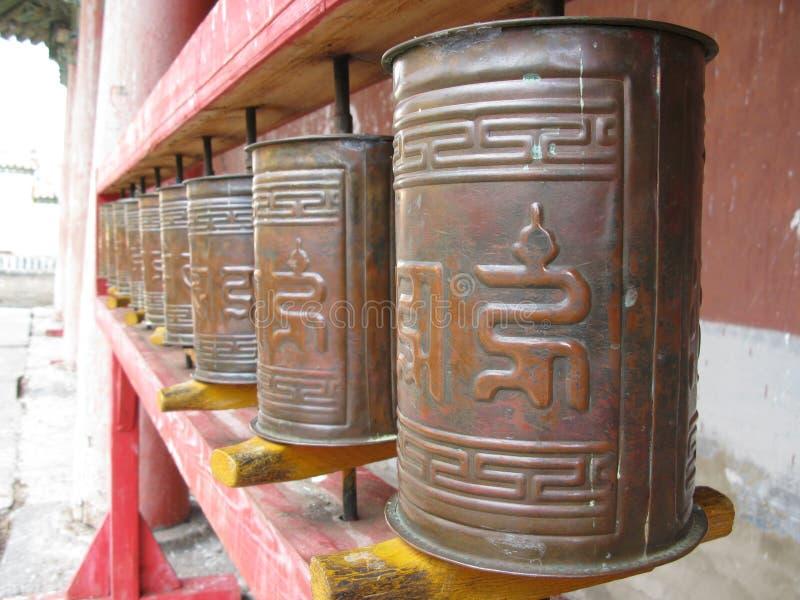 Download Buddhist prayer wheels stock photo. Image of wheels, religion - 12476470