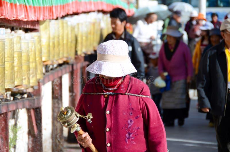 Buddhist prayers stock photography