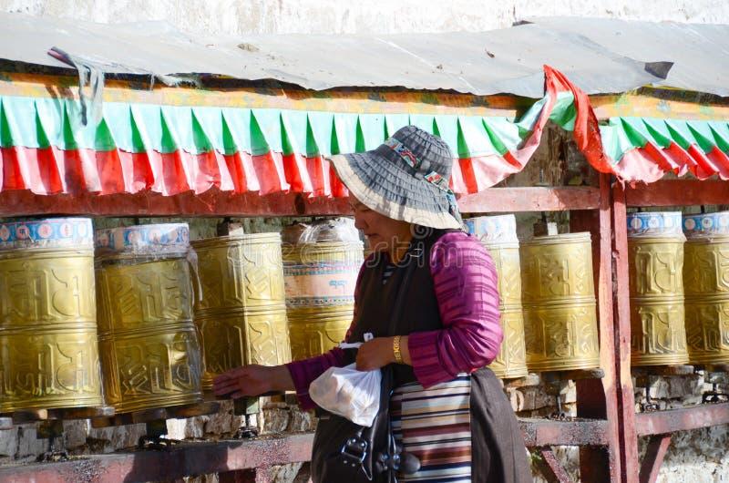 Buddhist prayers royalty free stock image