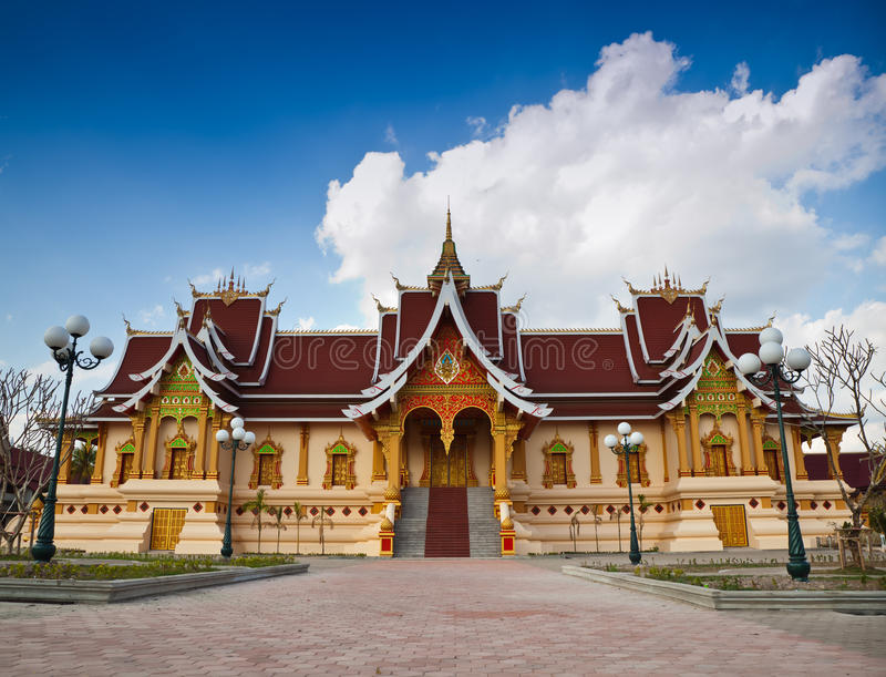 Buddhist Sanctuary Royalty Free Stock Photo