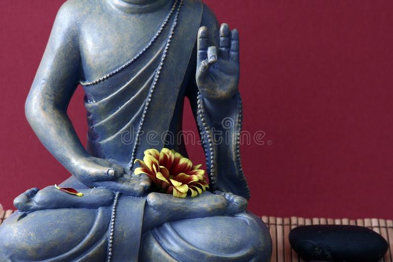 Download Buddhist statue stock image. Image of partial, lotus - 11437927