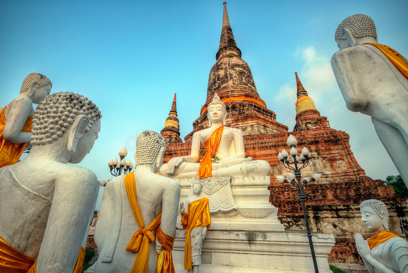 Download Buddhist Temple Ayutthaya stock image. Image of ancient - 15739661