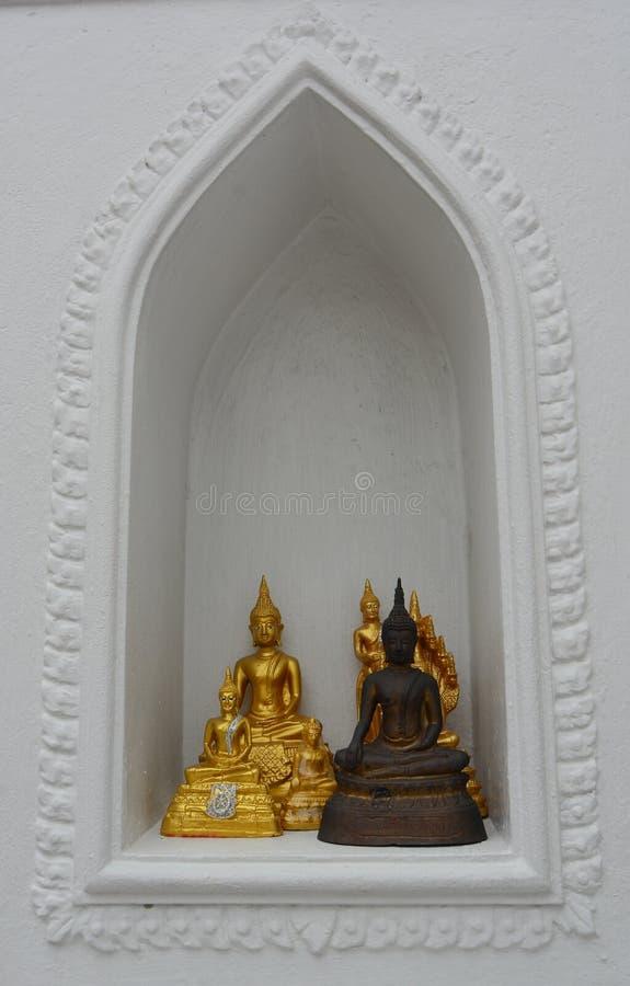 Buddhist temple in Bangkok stock photography