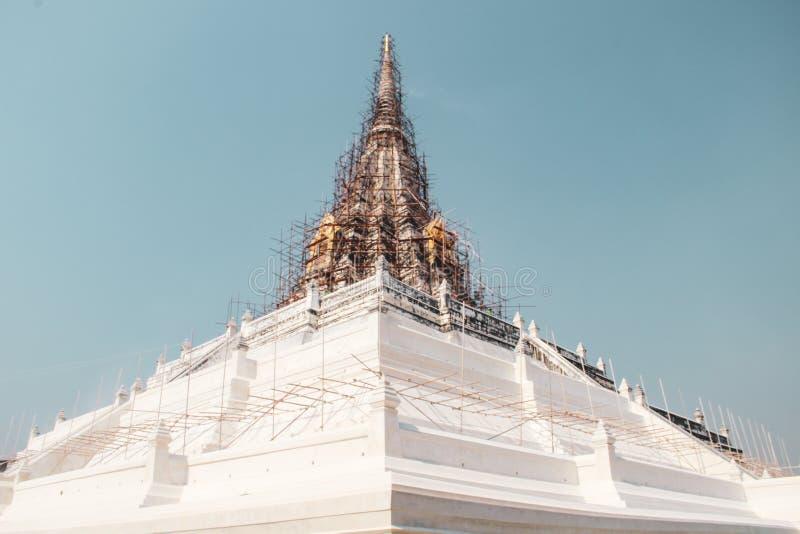 Buddhist temple in Bangkok, Thailand royalty free stock image