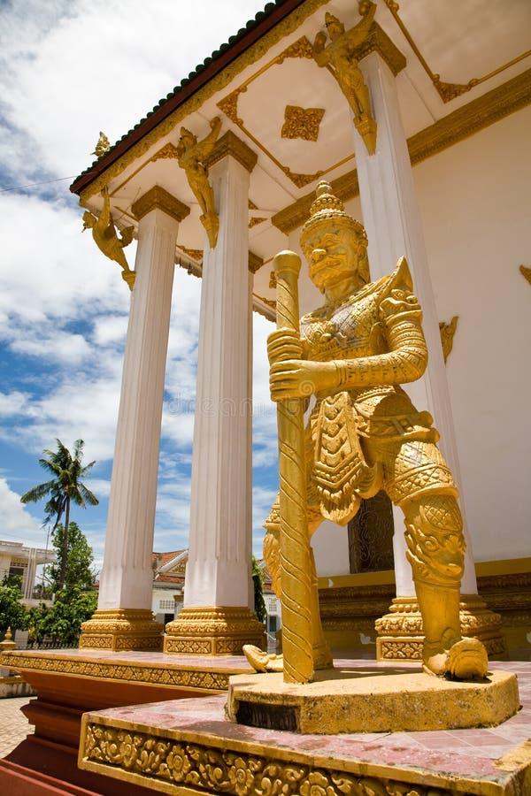 Buddhist Temple, Battambang, Cambodia royalty free stock photos