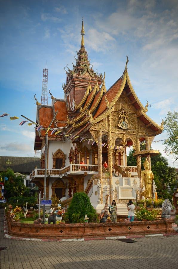 Buddhist Temple, Chiang Mai stock photos