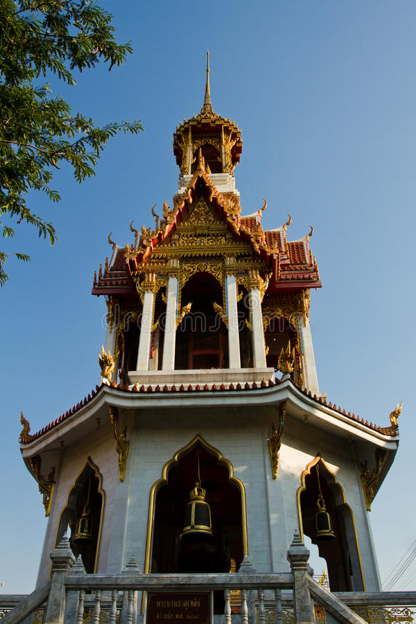 Buddhist Temple of the City of Bangkok, Thailand royalty free stock photos