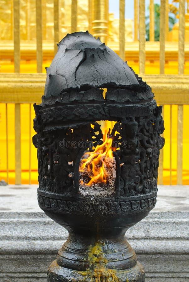 Buddhist temple lantern royalty free stock images