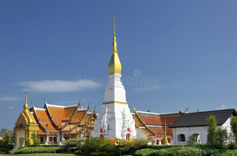 Buddhist temple in Thailand stock image