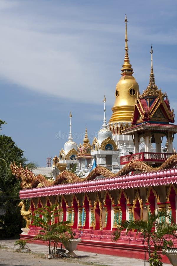 Buddhist Temple, Thalang, Phuket. Buddhist Temple (Wat), Thalang, Phuket royalty free stock photo