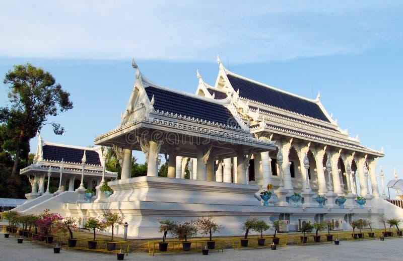 Buddhist temple Wat Kaew Korawaram in Krabi town Thailand stock images