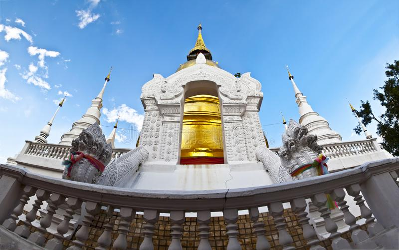 Buddhist temples in Thailand.