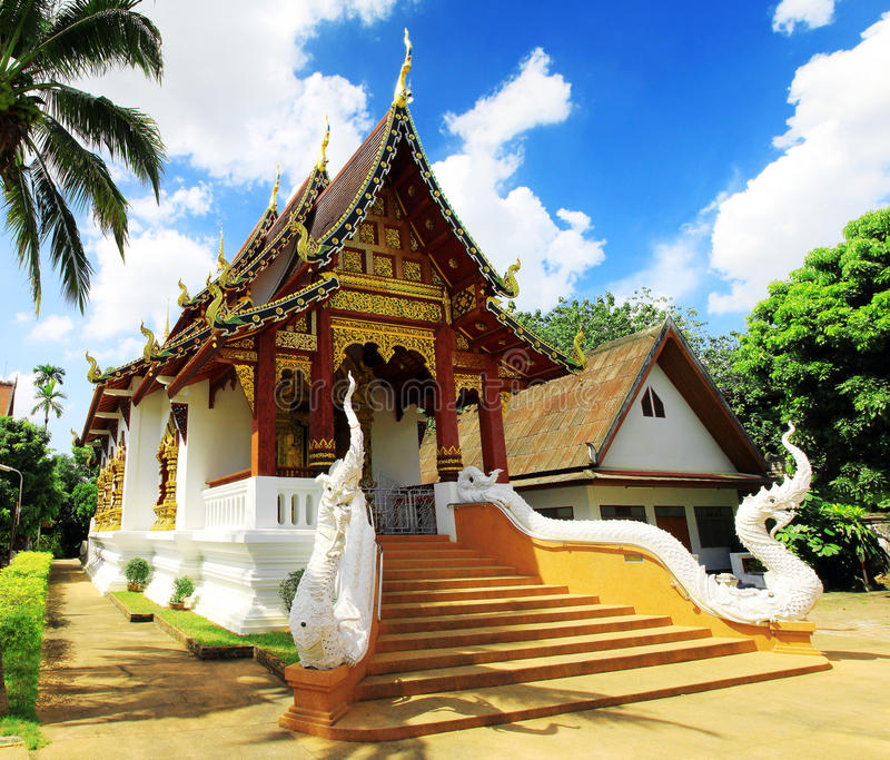 Buddhist temples in Thailand. stock photos