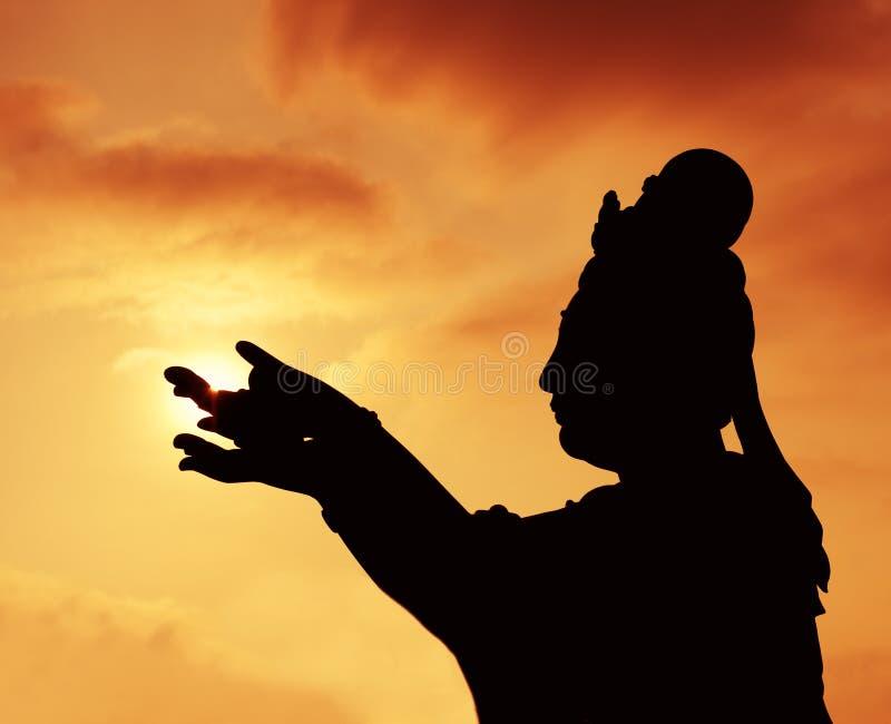 Buddhistic Statue stockfotos