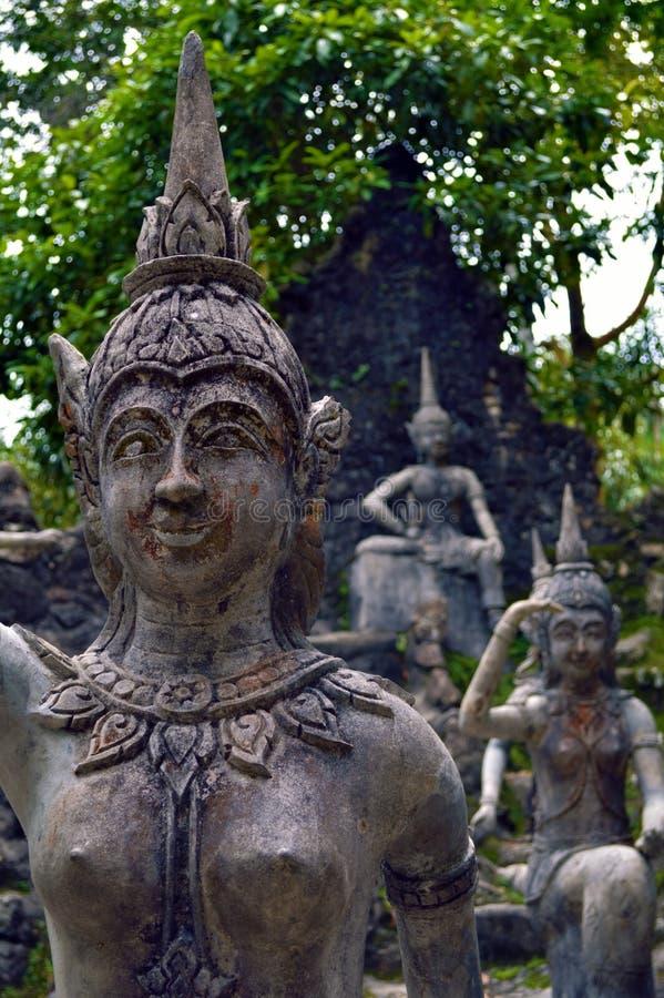 Buddhistic statue royalty free stock image