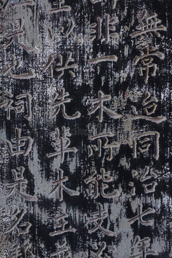 Buddhistische Erinnerungstablette angeboten dem Tempel von den chinesischen Handelsmännern lizenzfreies stockfoto