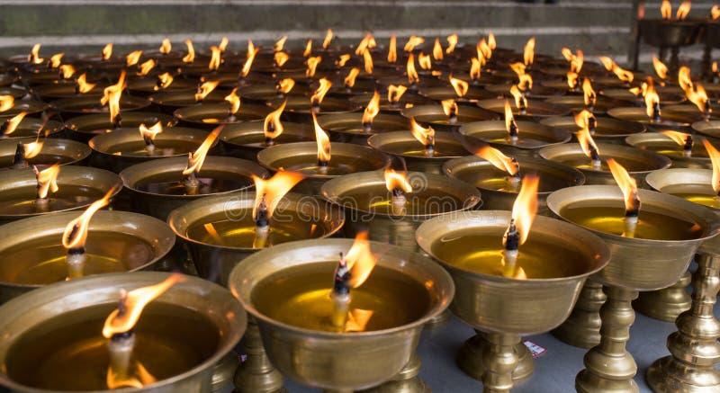 Buddhistische religiöse Einzelteile lizenzfreie stockfotos