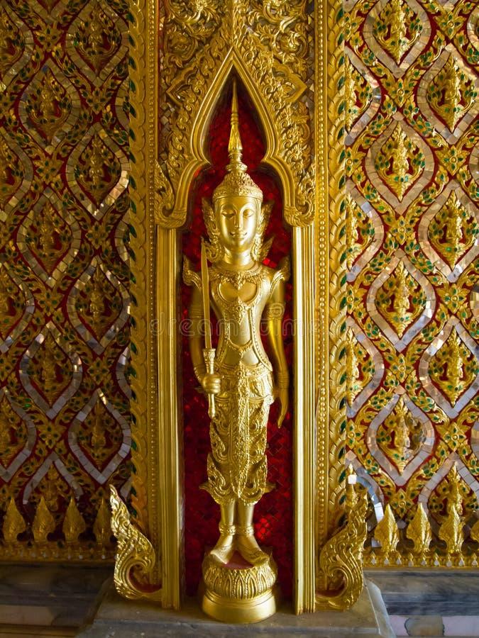 Buddhistische Tempel Uthaithani Thailand lizenzfreies stockfoto
