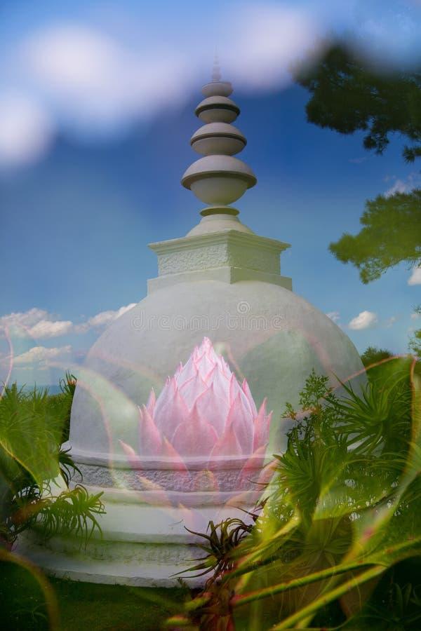 Buddhistischer Rückzug Südafrika stockfoto