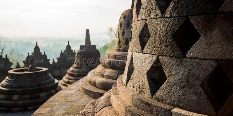 Buddhistischer Tempel Borobudur lizenzfreies stockfoto