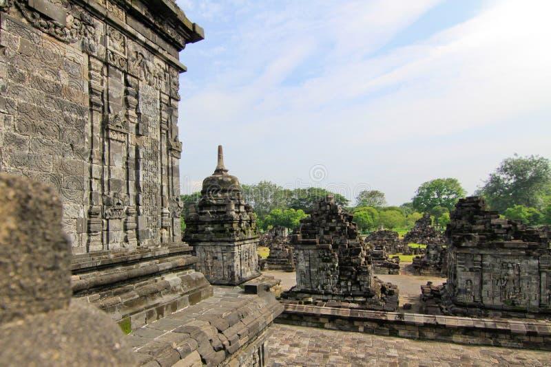BUDDHISTISCHER TEMPEL CANDI SEWU stockfoto