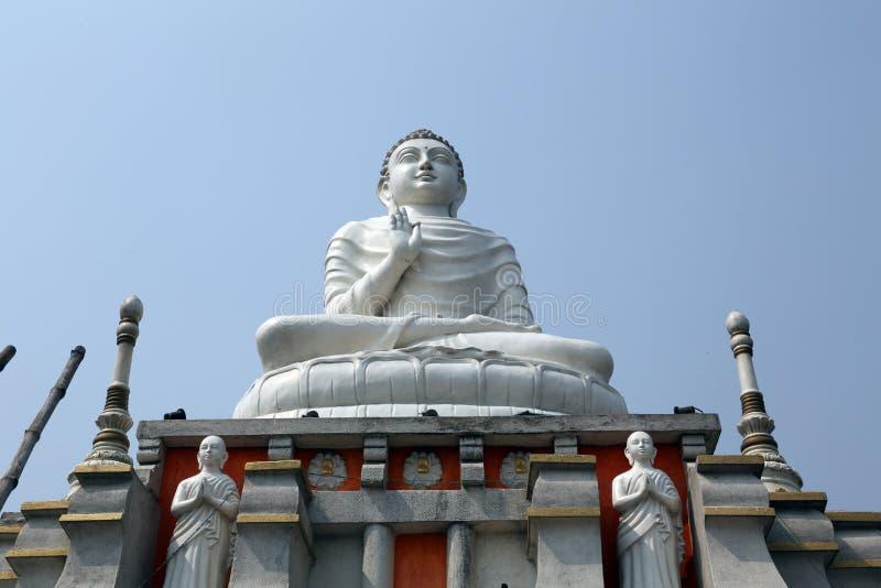 Buddhistischer Tempel in Howrah, Indien stockfotos