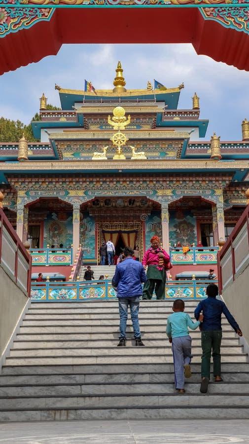 Buddhistisches Kloster lizenzfreie stockbilder