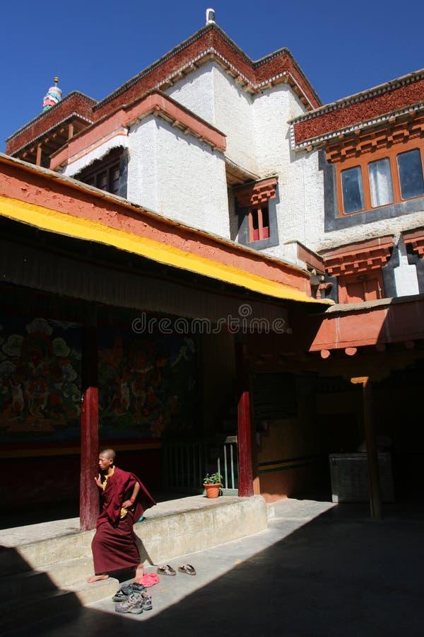 Buddhistisches Kloster stockbilder