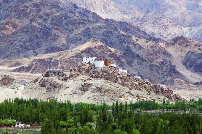 Buddhistisches Kloster in Ladakh, Indien lizenzfreie stockfotos