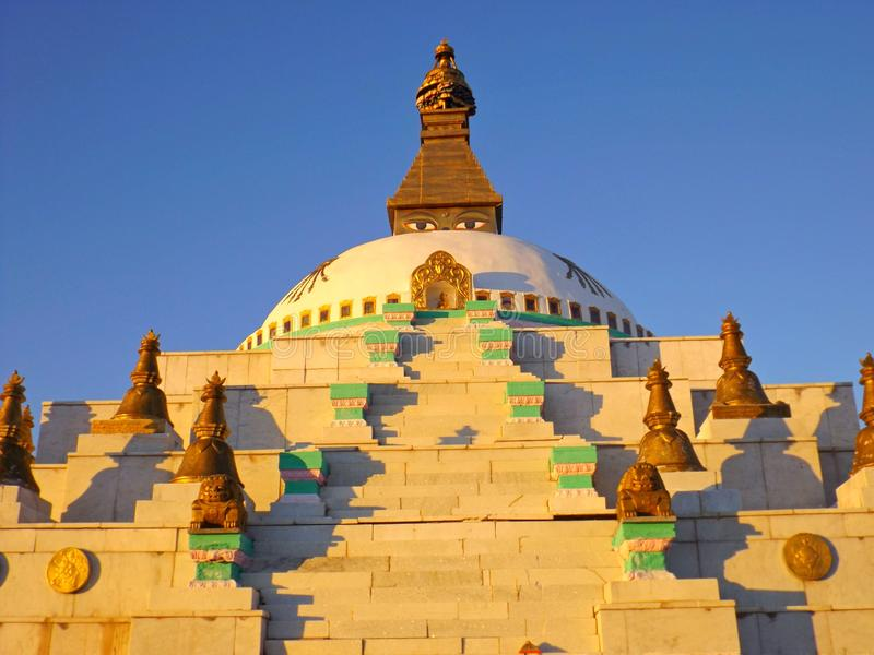 Buddhistisches Stupa stockfoto