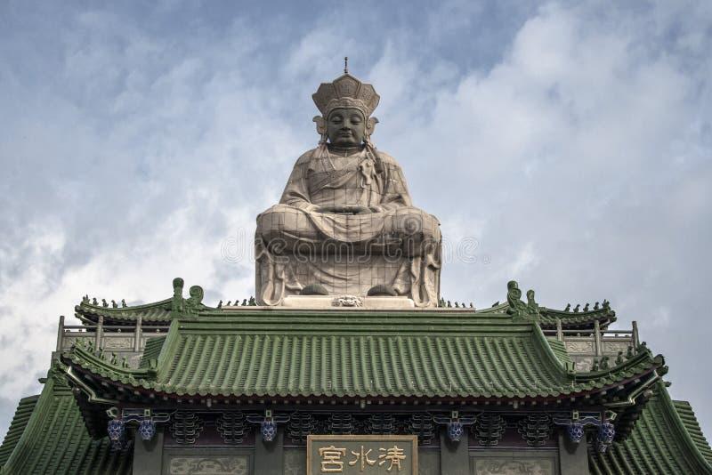 Buddish Świątynna rzeźba obrazy royalty free