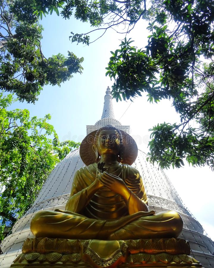 Buddism in Sri Lanka stock photography