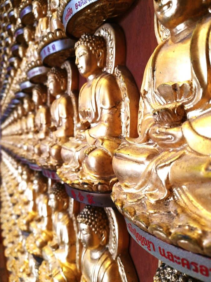 Buddist 10.000 arkivfoto