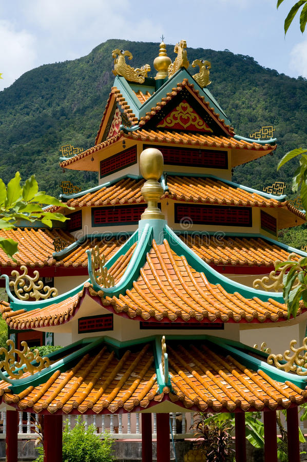 Buddist Tempel lizenzfreie stockfotografie