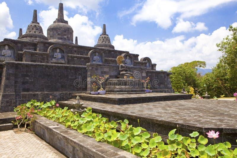 Buddist Tempel, Bali, Indonesien stockbilder