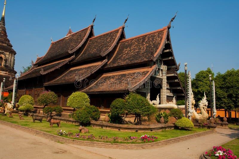 Buddist temple stock image