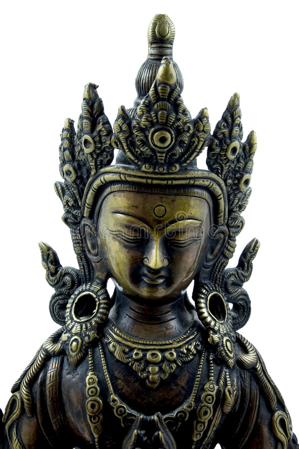 buddistisk effigy arkivbilder