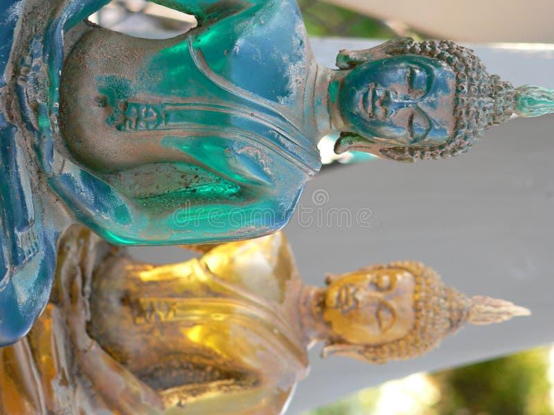 buddistisk gammal staty arkivfoto
