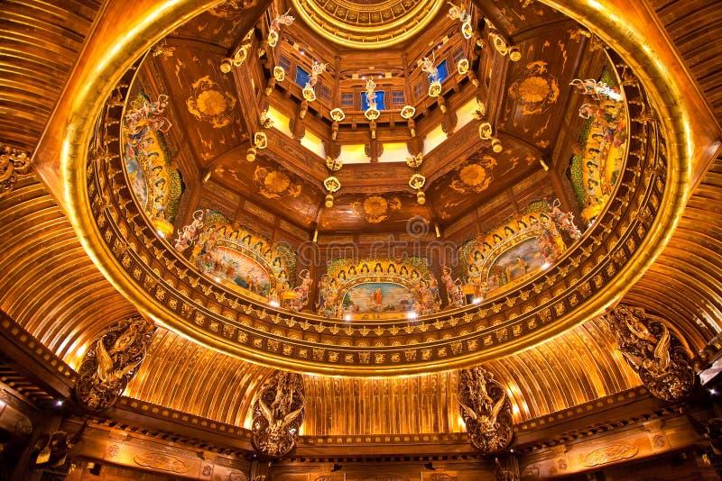 buddistisk inre storartad slott royaltyfri foto