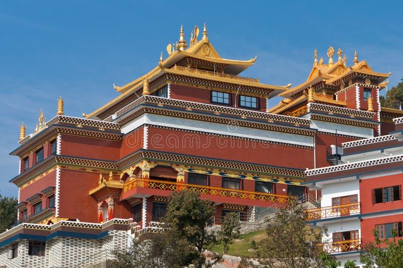 Download Buddistisk kloster fotografering för bildbyråer. Bild av vägg - 19790645
