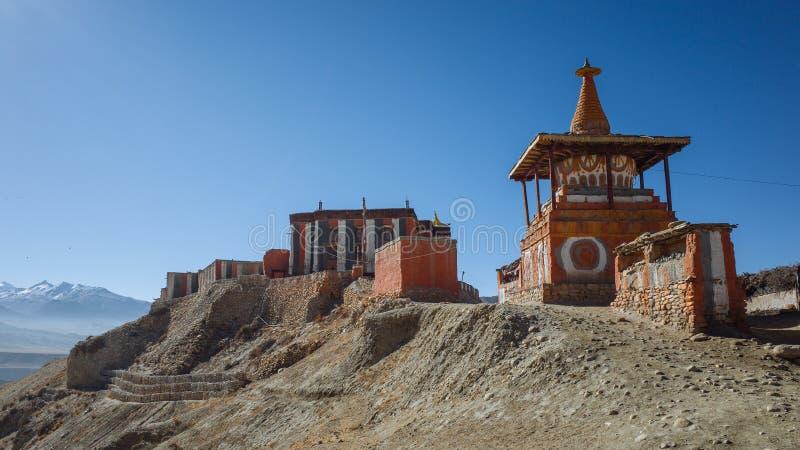 buddistisk kloster royaltyfria foton